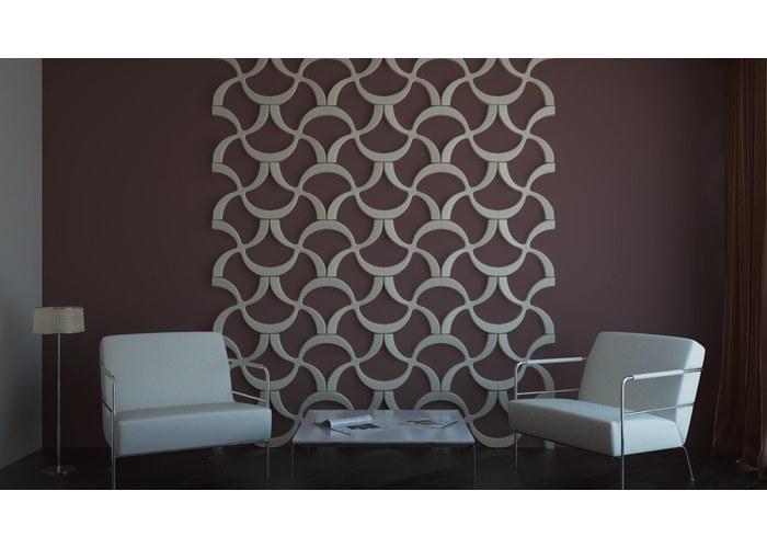 Декор стен и3d панели из гипса своими